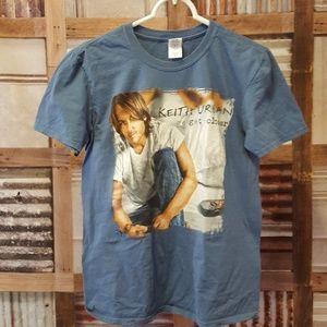 Keith Urban 2011 tour t-shirt